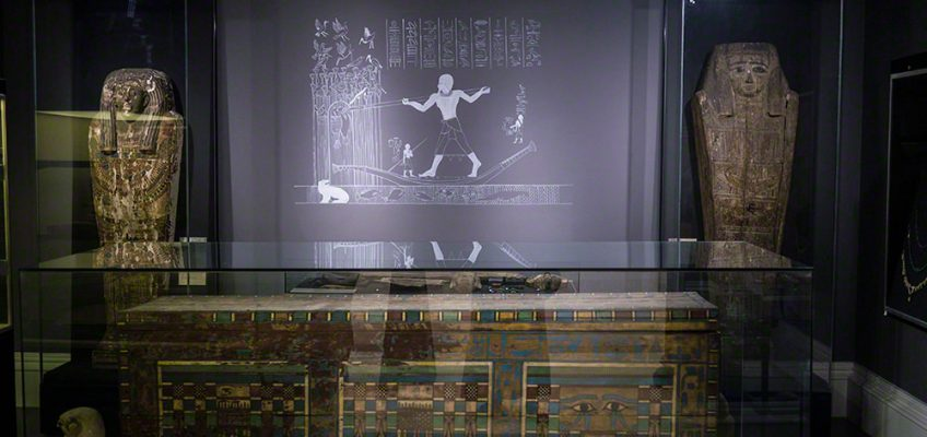 Opening day at the refurbished Garstang Museum