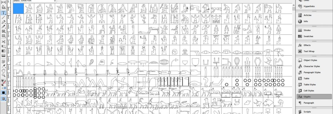 Google Noto: a typeface collection with hieroglyphs