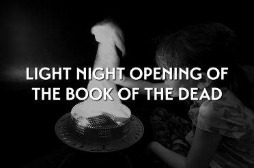 Light Night opening of the Book of the Dead exhibition