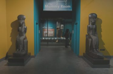 The new Egyptian galleries at the World Museum