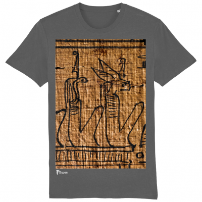 product image for the anthracite egyptian underworld deities cotton classic t-shirt