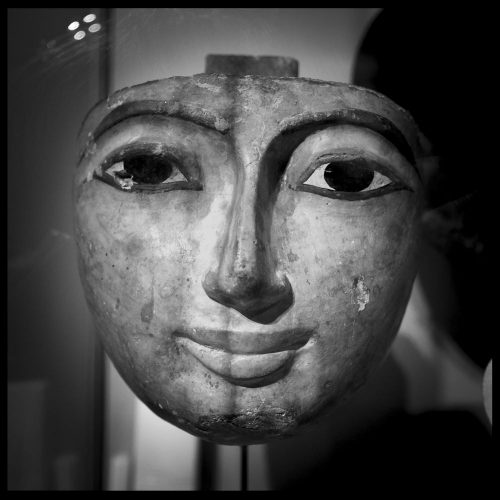 A classic ancient Egyptian face