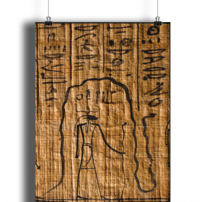 product image for the ancient egyptian re and mehen poster