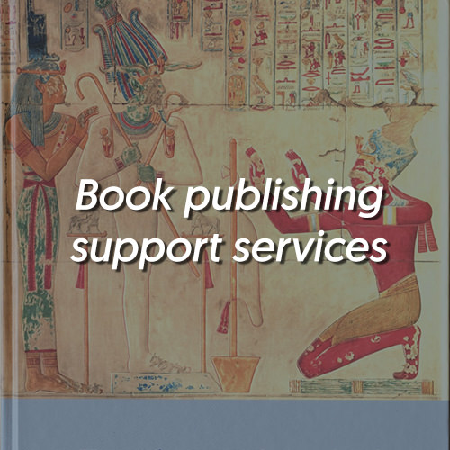 book publishing support services