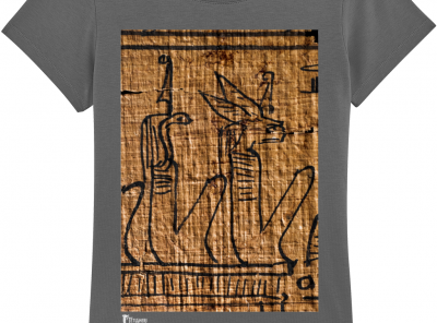 product image for the underworld deities anthracite ancient egyptian ladies' cotton tshirt