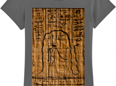 product image for the re and mehen anthracite ladies tshirt