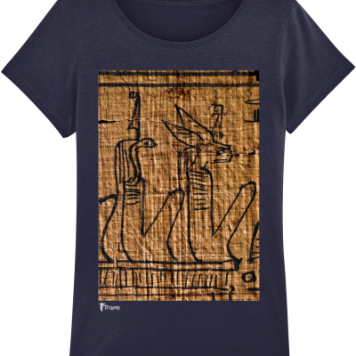 product image for the underworld deities navy ancient egyptian ladies' cotton tshirt