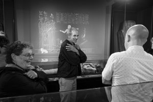 Egyptologist bob brier at the garstang museum of archaeology