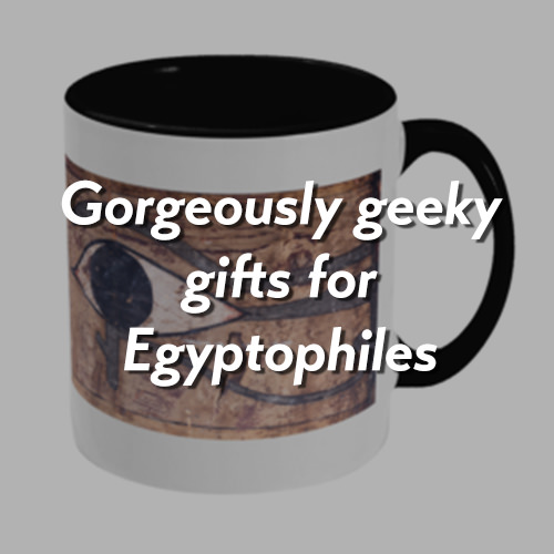 gorgeously geeky gifts for egyptophiles