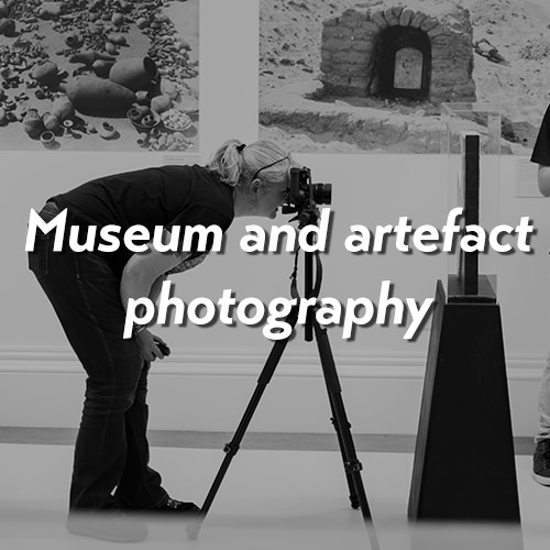 Museum and artefact photography
