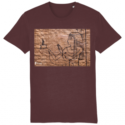 product image for the burgundy perfume of the gods cotton classic t-shirt