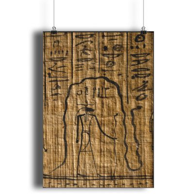 product image of the poster of the egyptian god re in the underworld