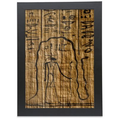 product image of the a4 framed fine-art print of the egyptian god re in the underworld