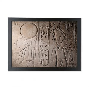 product image for the Re-Horakhty and Osiris A3 framed print