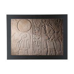product image for the Re-Horakhty and Osiris A4 framed print