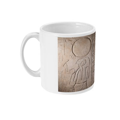 product image for the Re-Horakhty and Osiris ceramic mug
