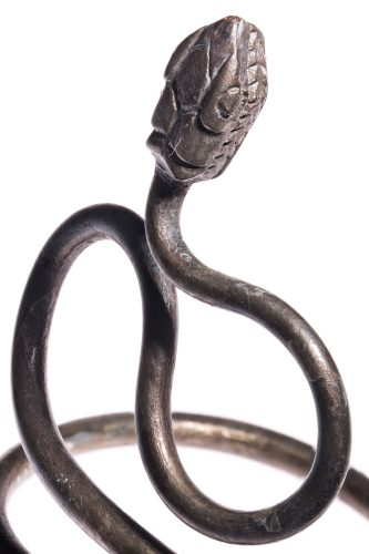 an ancient egyptian serpent armband