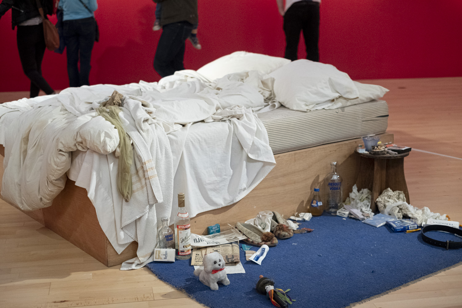 tracey emin's my bed at the tate liverpool