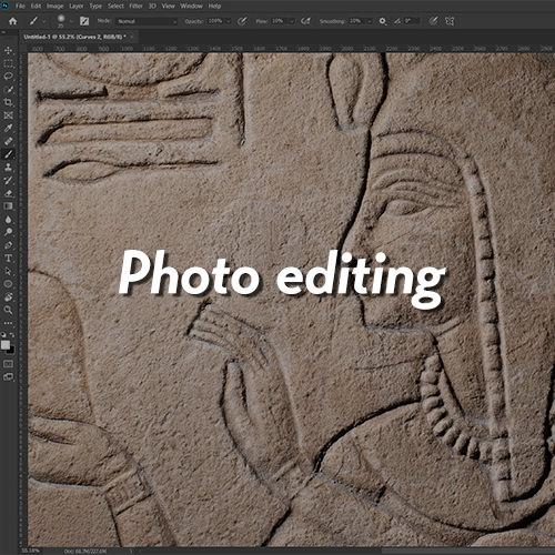 image for photo editing menu item