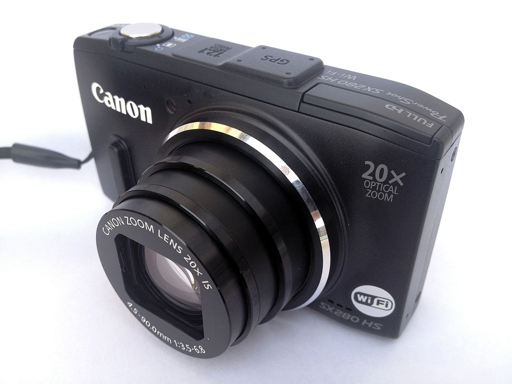 a sony compact camera