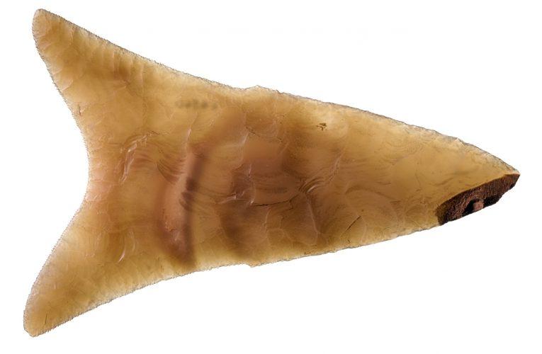 an ancient egyptian flint knife
