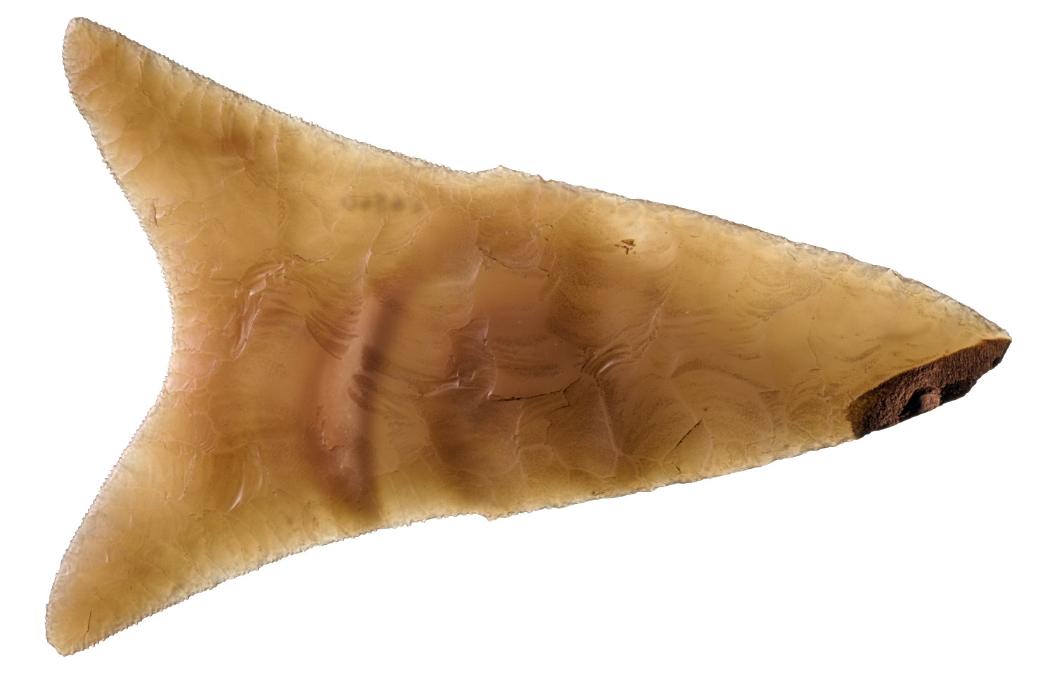 an ancient egyptian flint knife