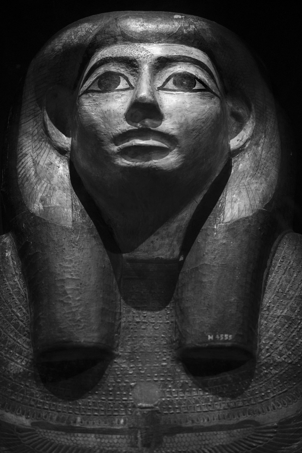 ancient egyptian anthropoid coffin