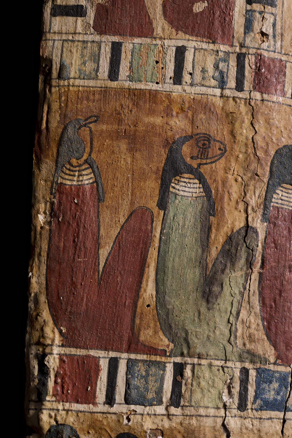 ancient egyptian serpent- and frog-headed deities